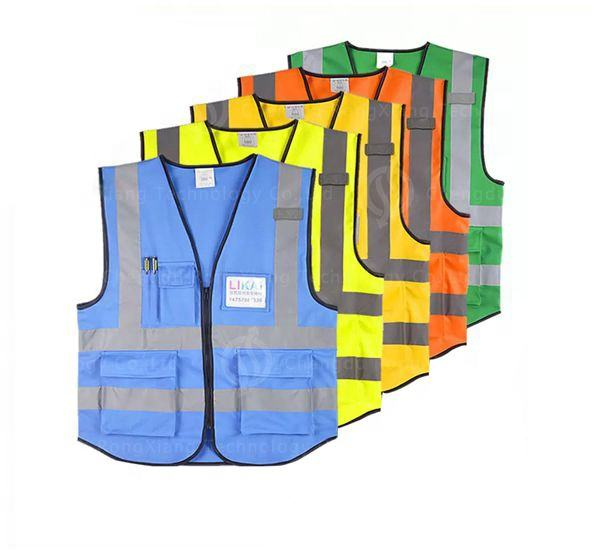 Hot Selling Pets Clothing High Visibility Safety Dog Reflective Vest