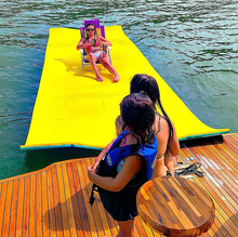 2020 Hot Selling Floating Water Foam Mat 6x18ft Water Play Equipment
