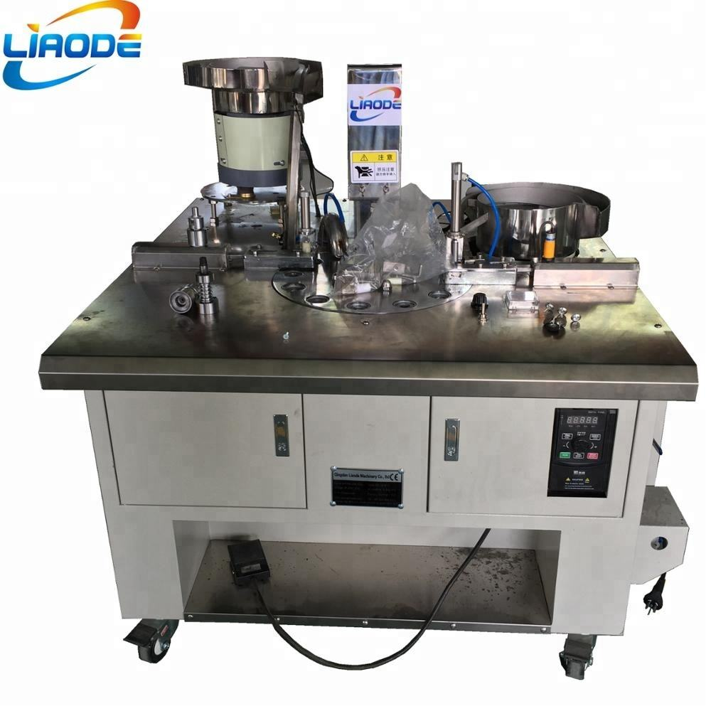 Automatic Fabric Covered button Making machine