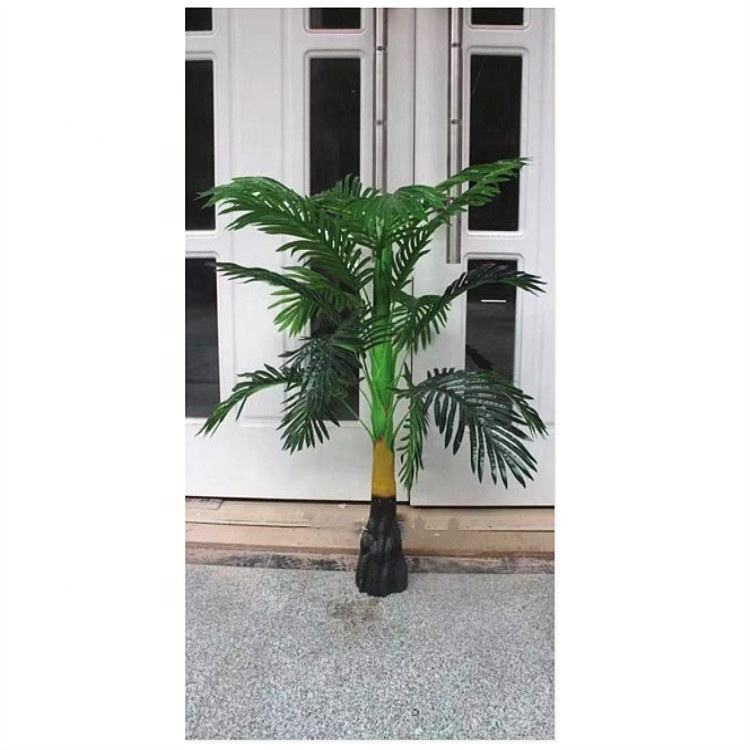 Best selling Phoenix Palm Artificial Tree And Leaves Bonsai Ornamental Plants