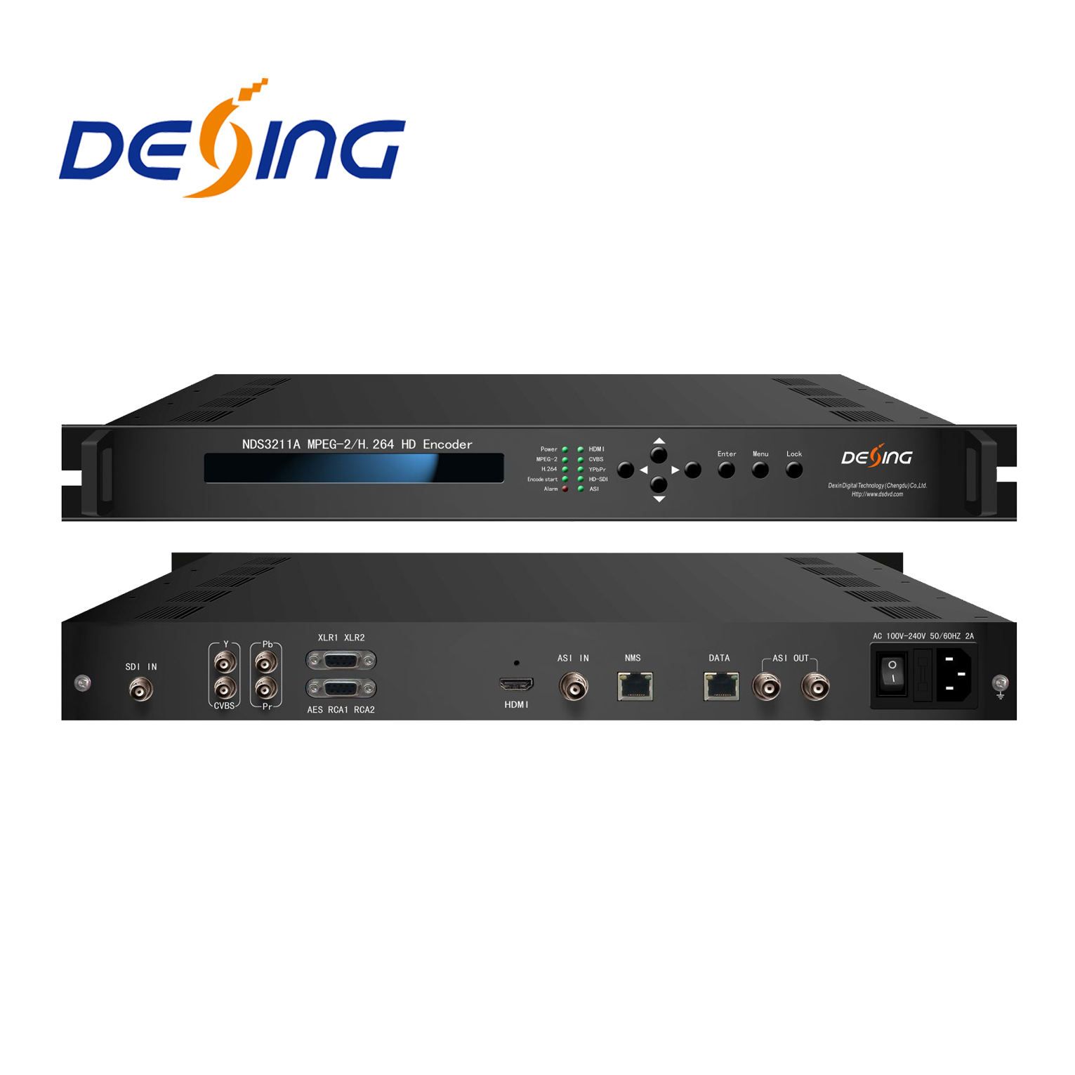 1080i NDS3211A MPEG2 H.264 HD Encoder
