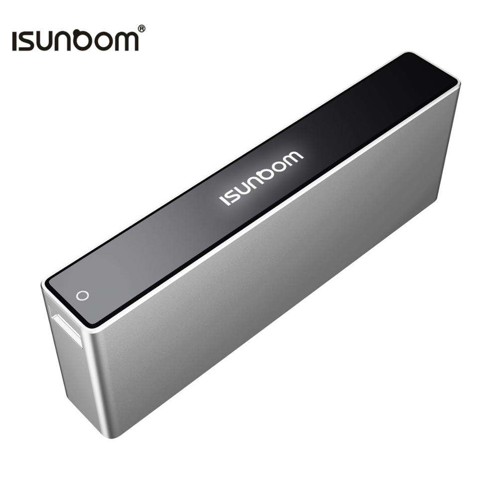 Free shipping best portable charger 10000mah aluminium alloy power bank