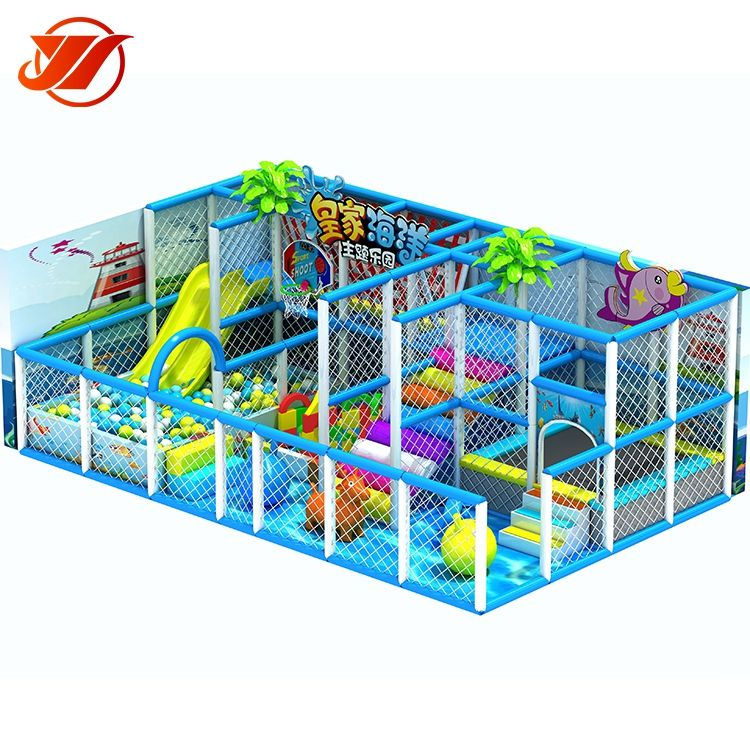 Sea style children commercial indoor playground equipment soft play