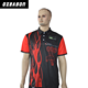 OEM Service [ Sports Polo ] Polo High Quality Dri Fit Mens Sports Wear Sublimated Polo T Shirt Black
