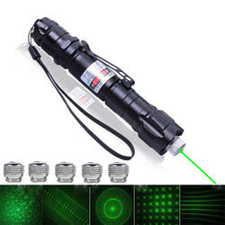 5mW 532nm Tactical Laser Grade Green Pointer Strong Pen Powerful Military Lasers Lazer Flashlight