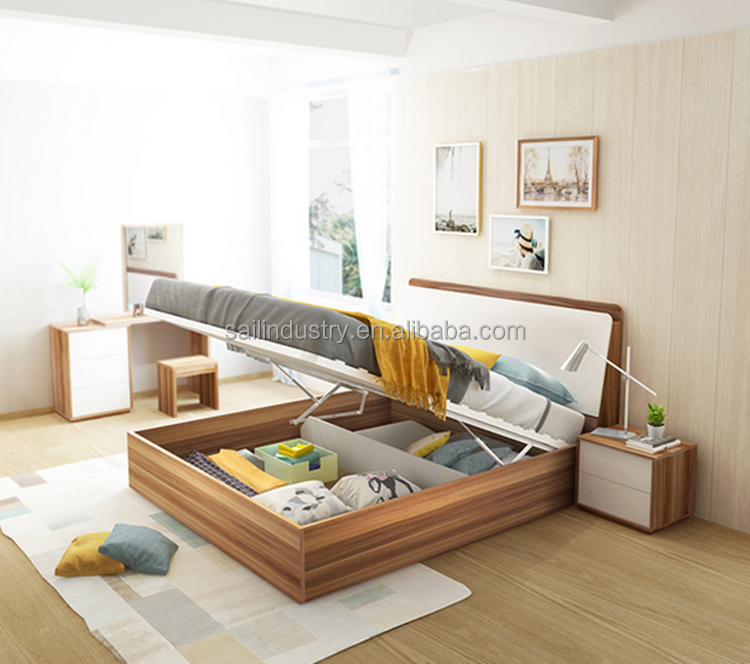 lifting bed board double bed