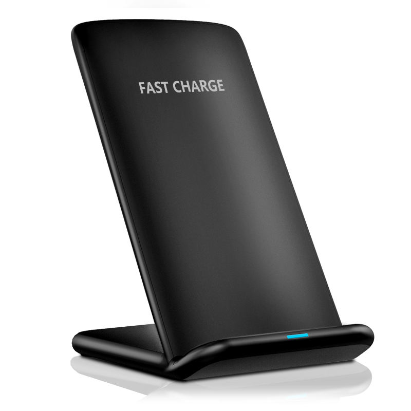 Amazon best seller wireless charger seneo cepat wireless charger 10 w pengisian berdiri