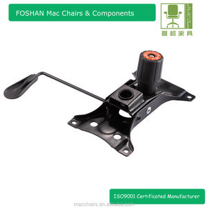 Office chair butterfly tilt swivel mechanism