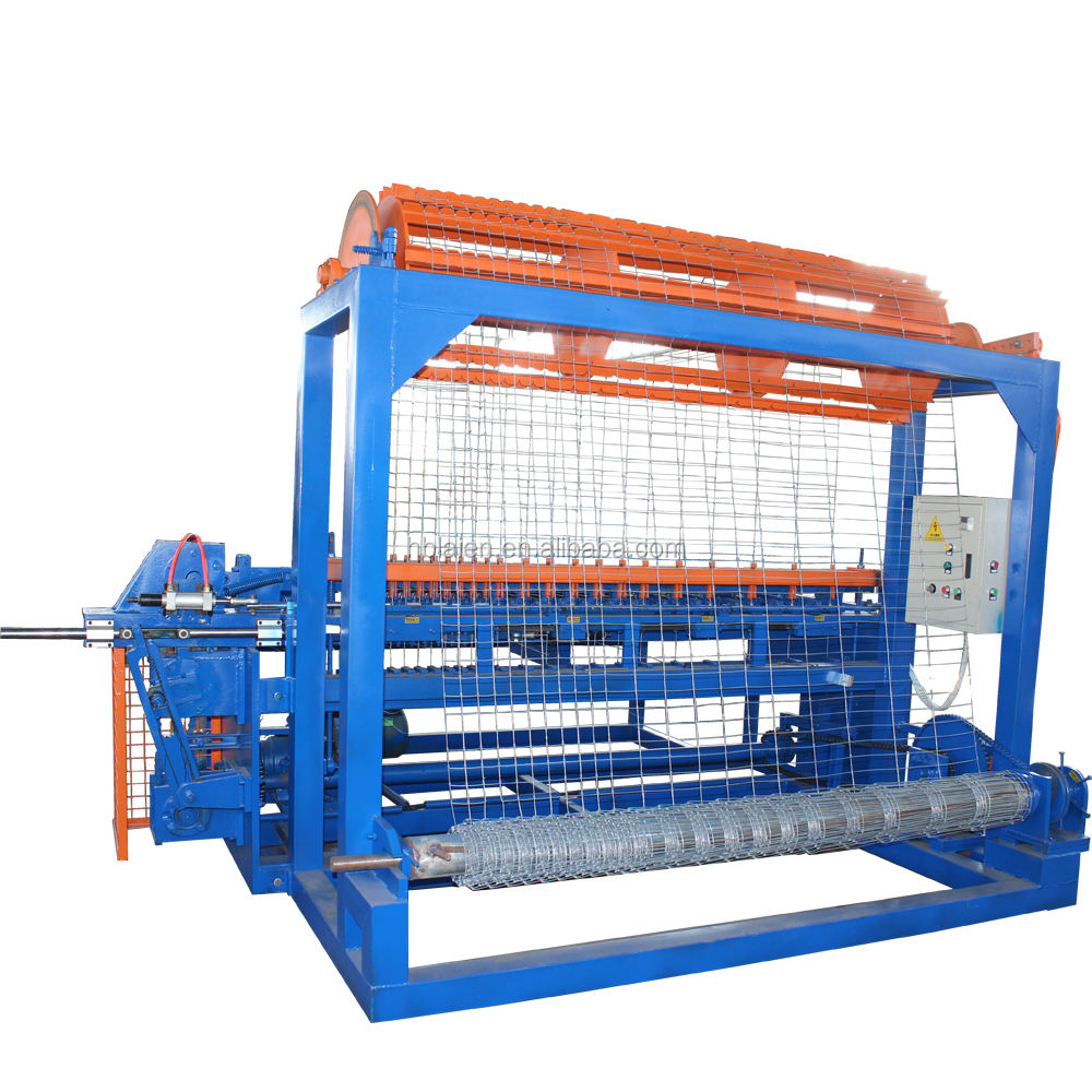 (fixed knot) grassland fence weaving machine professional manufacturer