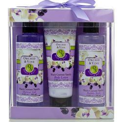 elegant purple gift bath spa set for girl