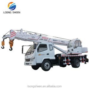 8 Ton Mini Lifting Crane Fassi Type Hoge Up Truck Kraan LXQY-8