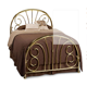 china supplier european style bed designer antique furniture king size brass bed
