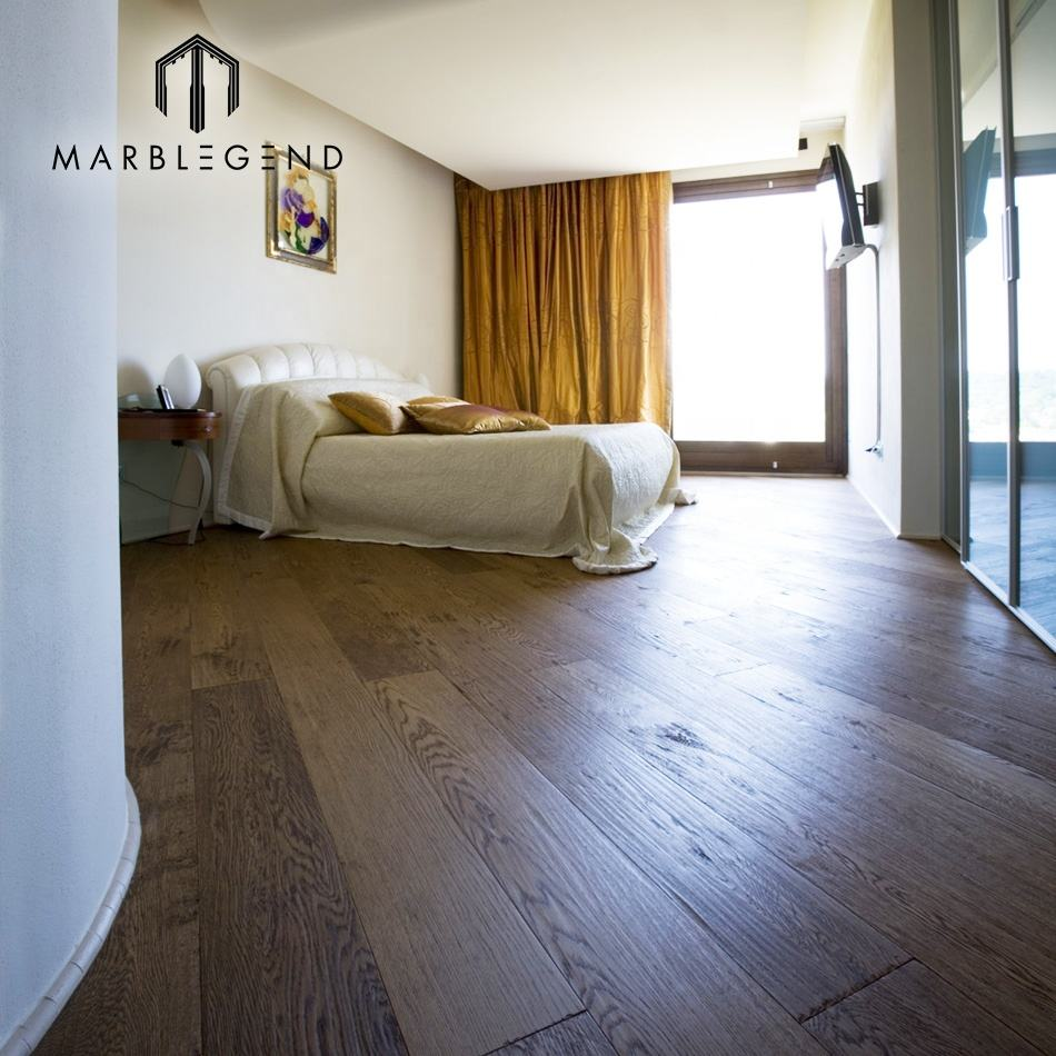wholesale majestic Elegant strip shape Oak Hardwood Engineered wood Flooring