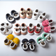 tengxing Wholesales New fashion soft sole newborn leather baby moccasins for girl or boy
