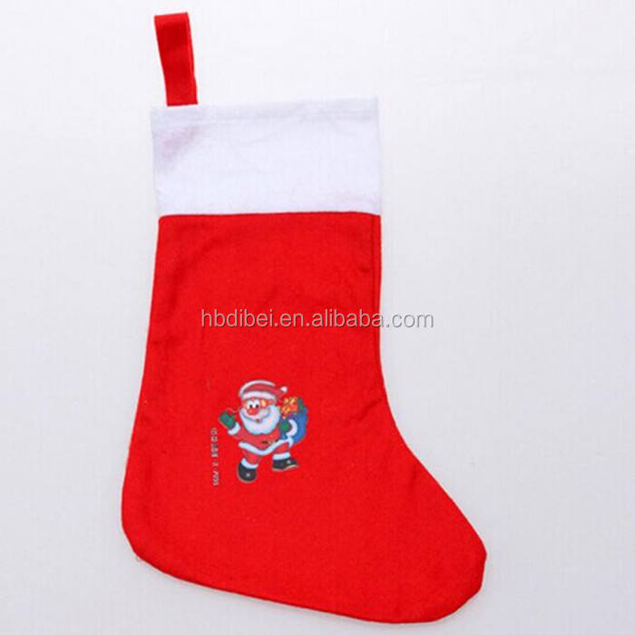 beautiful polyester felt ornaments christmas toe socks