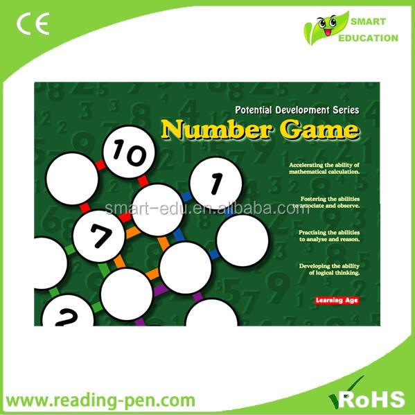 Educational toys math game develop IQ - Number Games