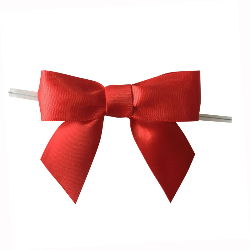 Wholesale Custom Ready Made Bows Satin For Gift Packing