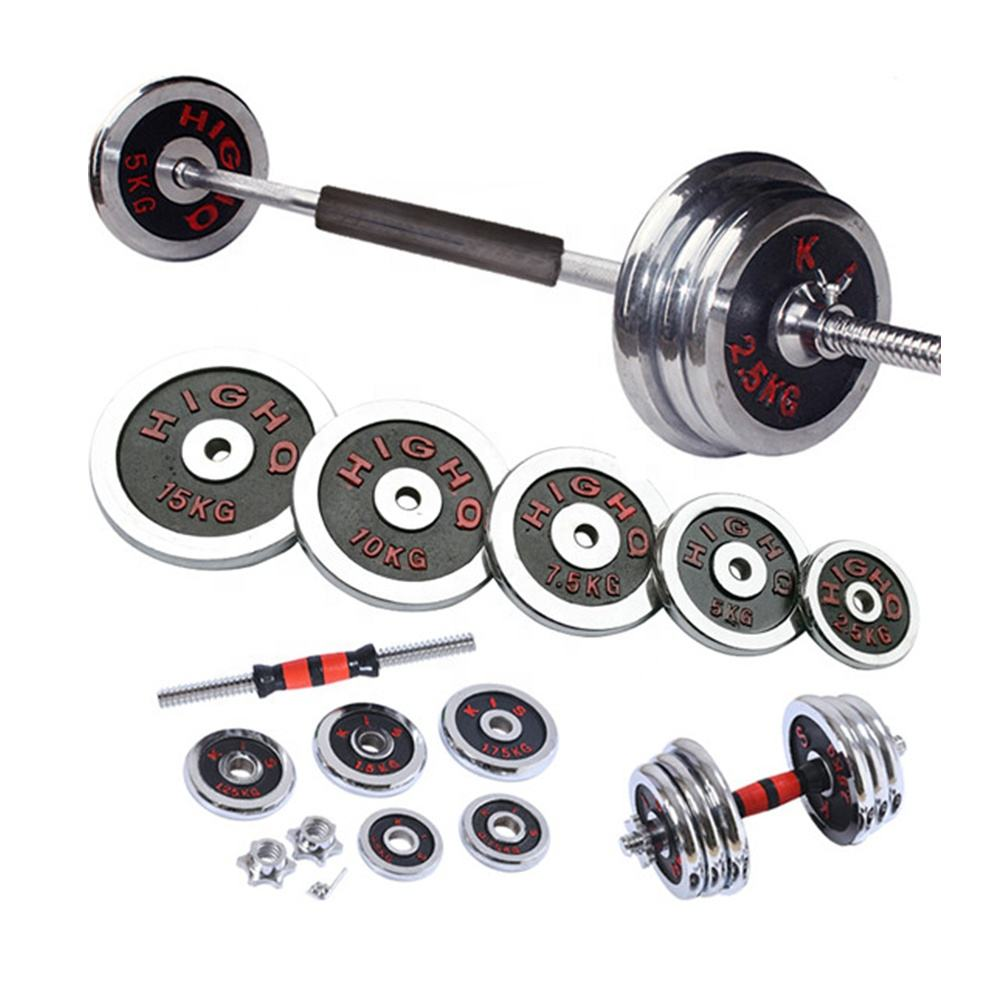 mancuernas de gym dumbbell set weight 1 set axis barbells gym equipment