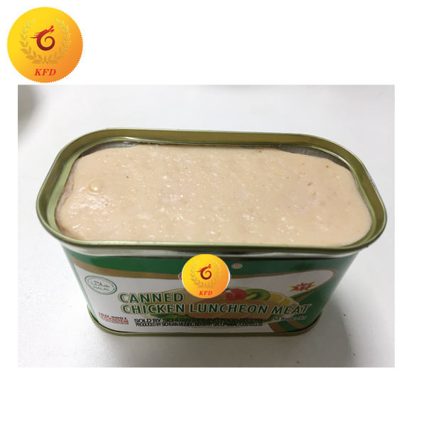 340g Canned Chicken Luncheon Meat Wholesale