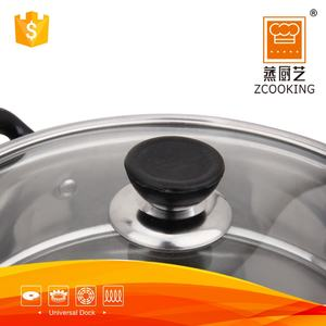 28 CM Home 2 Layer Metal Stainless Steel Chinese Food Steamer Pot