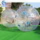 TPU/PVC kids zorb ball for bowling / inflatable human-sized hamster ball with good air pump