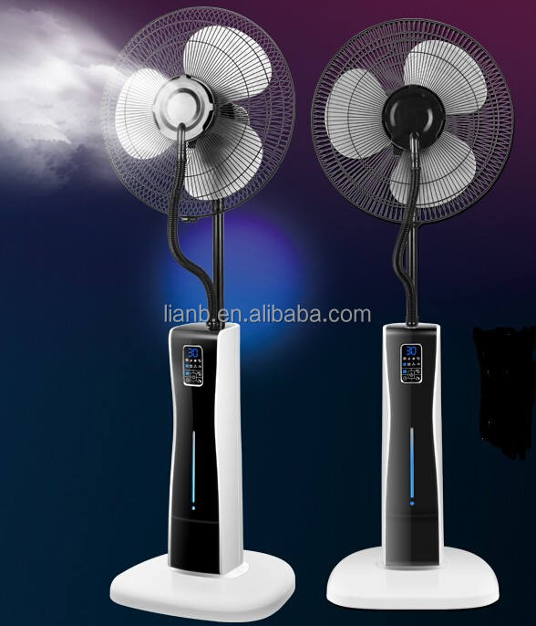 new model Metal Material and Electric Power Source spray mist fan