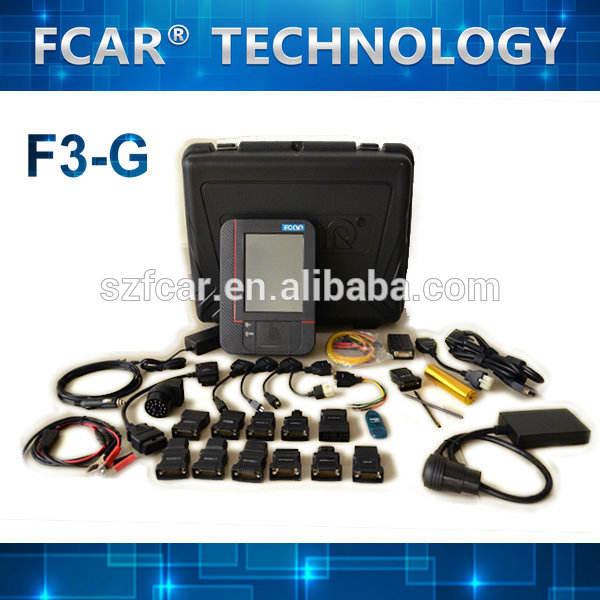 MACK, FUSO, SUZUKI, DENSO, ZEXEL, ZF, CUMMINS, BOBCAT, DAF, Auto <span class=keywords><strong>Scan</strong></span> para todos os carros FCAR F3-G Car diagnóstico Scanner