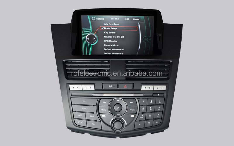 touch screen nieuw ontwerp autoradio video audio Mazda BT-50 car audio-speler