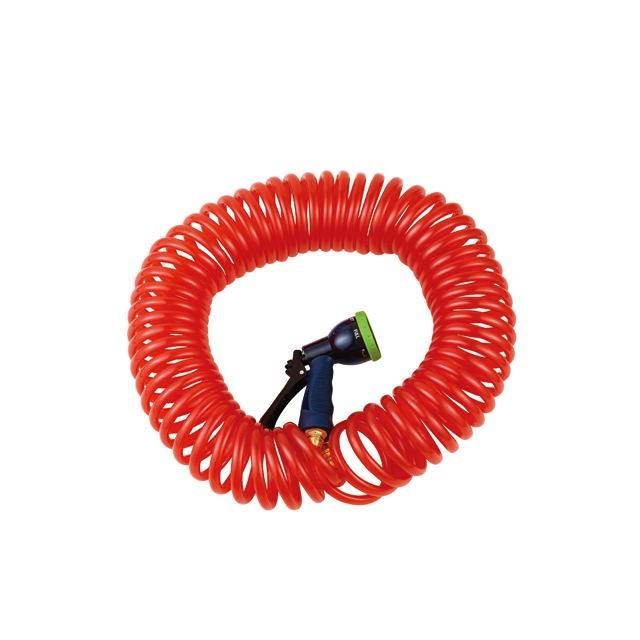 50FT coil hose set sprinkler irrigation portable
