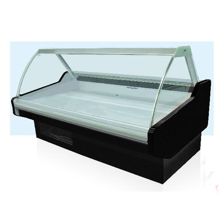 Made in China high quality open glass used display case cooler with CE certification