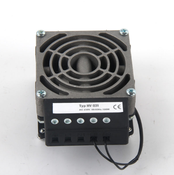 Made in China 100W to 400W Compact Heater for Enclosure HV031 Industrial Space Fan Heater