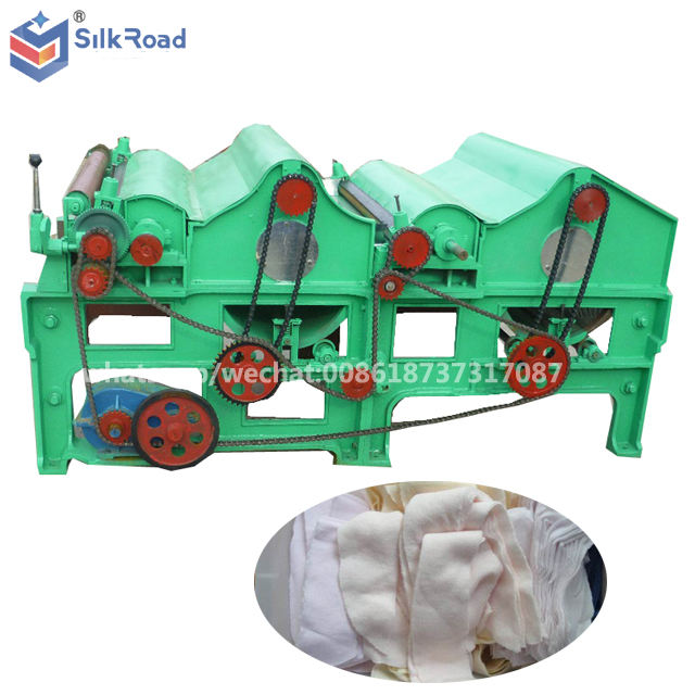 multi functional waste textile opener