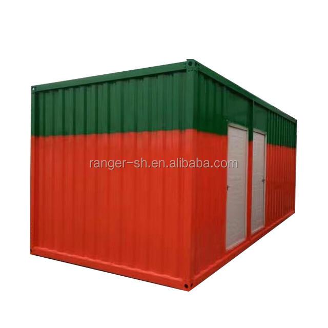 플랫 팩 배송 이동 음료수 집/살기 배송 컨테이너 하우스