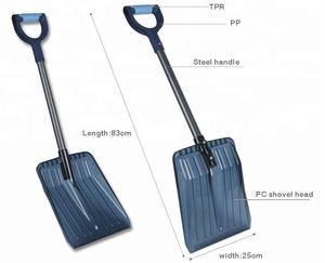 China BSCI ISO Plastic Car Snow Shovel
