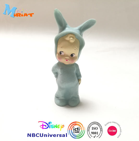 Green cute baby PVC action figure gifts OEM