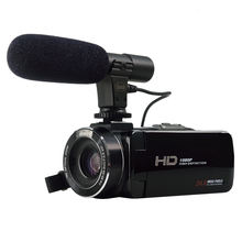 HDV-Z20 WiFi Wireless professional video camcorder FHD: 1920*1080(30fps) Built in ( LED X 2 )mini video 3.0''Touch Panel camera