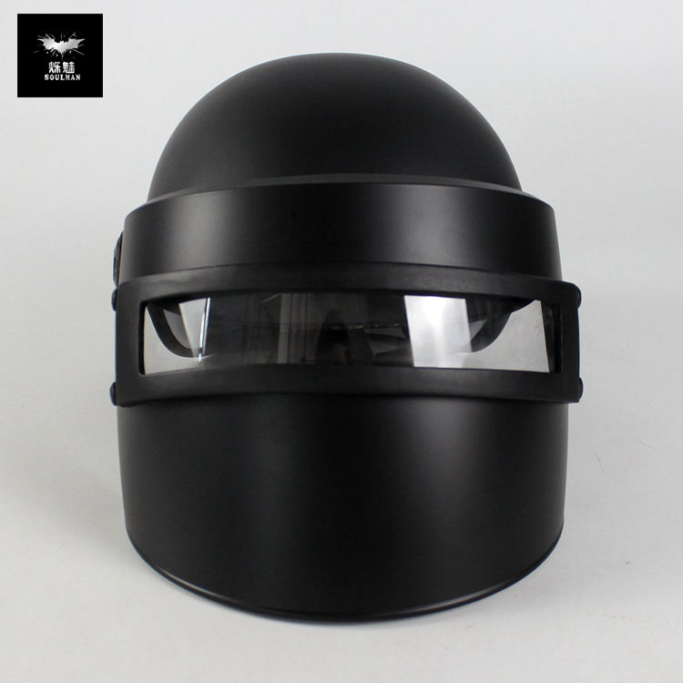 3D Helm Battlegrounds Zwarte Niveau 3 Helm Masker Rekwisieten Spel Cosplay Winnaar Kip Diner Gaming Helm