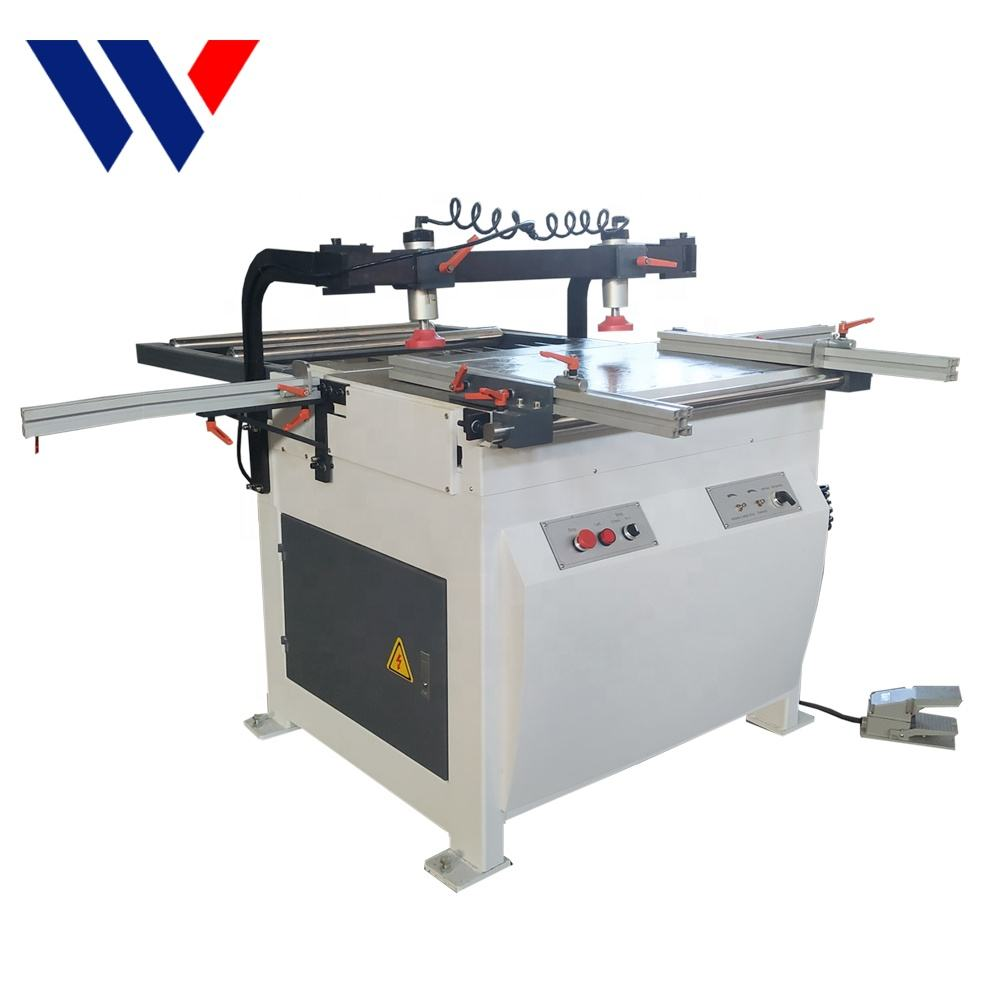 China precision woodworking cabinet manual multi boring machine for panel furniture