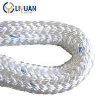 High strength double braided marine/ ship/ mooring /towing rope