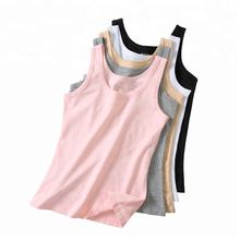 Custom high quality lycra breathable cotton women blank tank top
