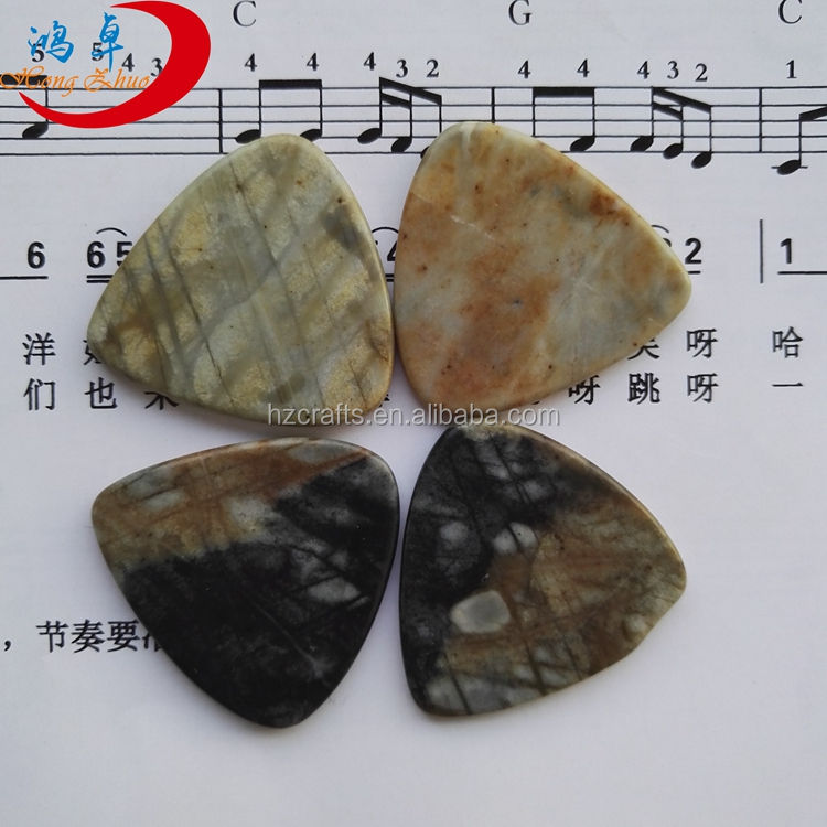 high end small triangle guitar picks