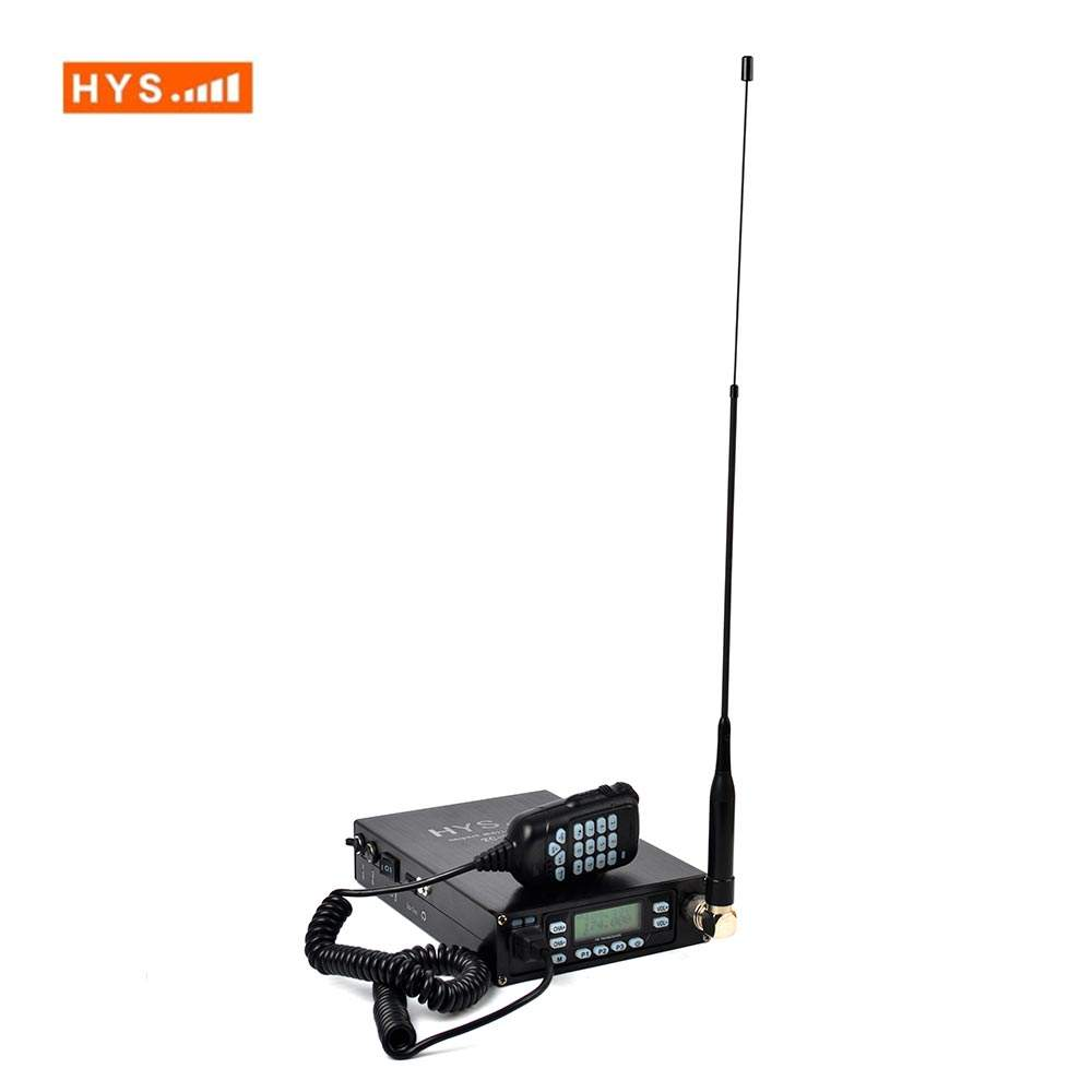 Dual Band 25w 2 Way Radio VHF UHF Scanner DTMF Dual-PTT Backpack Mobile Car Transceiver with Battery 12000mah
