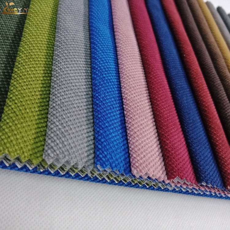 High Quality Twill Plain Dyed Bonded Upholstery Fabric For Sofa Furniture