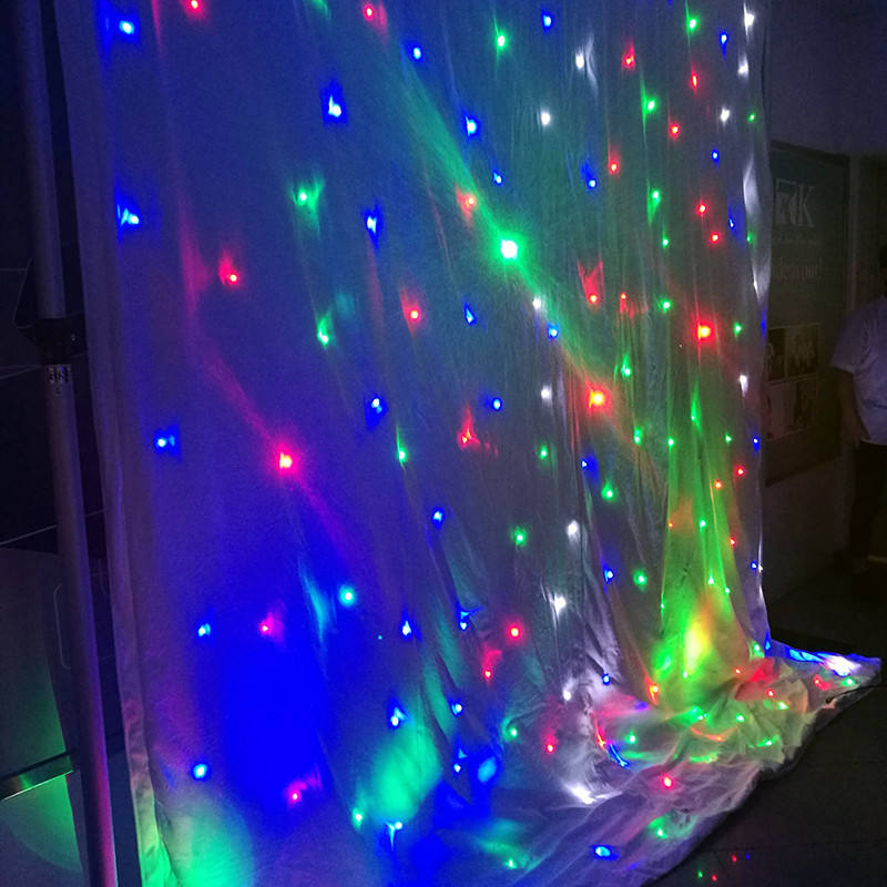 outdoor and indoor led star curtain for stadium/stage/club