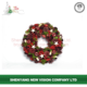 Hot China Products Wholesale Artificial Red Berries Wreath