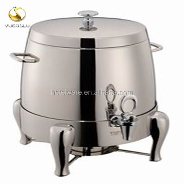 New Style Hotel Buffet Equipment 12L 19L Stainless Steel Coffee Milk Tea Juice Dispenser