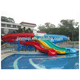 Big fiberglass water park slides for sale