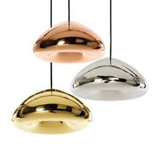 Mini Rose Gold/ Gold/ Silver Bowl Glass Lampshade Pendant Lighting