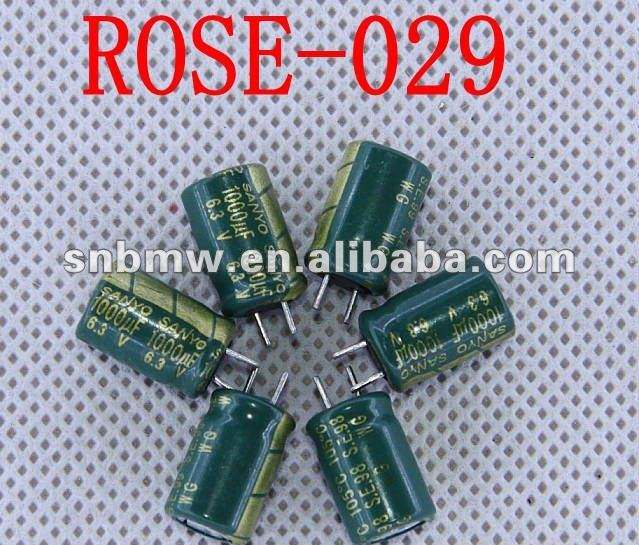 For Sanyo High Frequency Electrolytic Capacitor 6.3V 1000uf