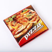 Cheap custom printed pizza book shape paper box